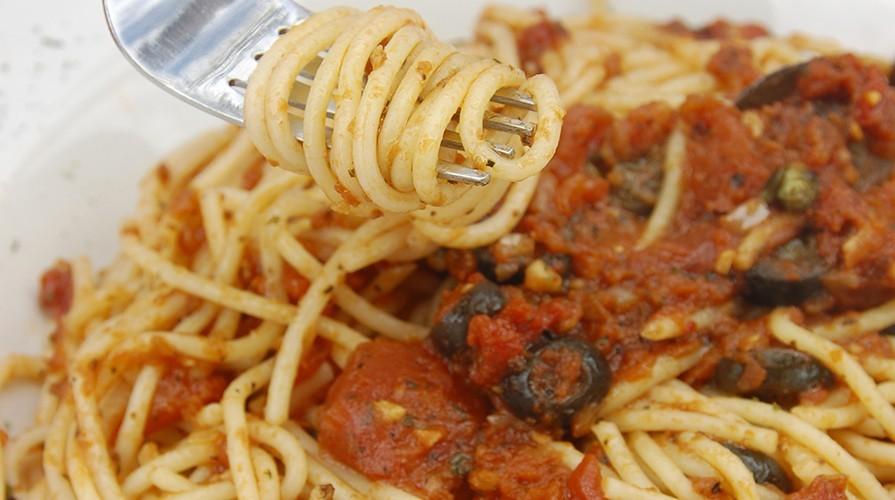 Spaghetti in Salsa Eoliana