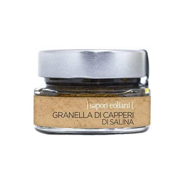 Granella di Capperi di Salina 50g – Sapori Eoliani