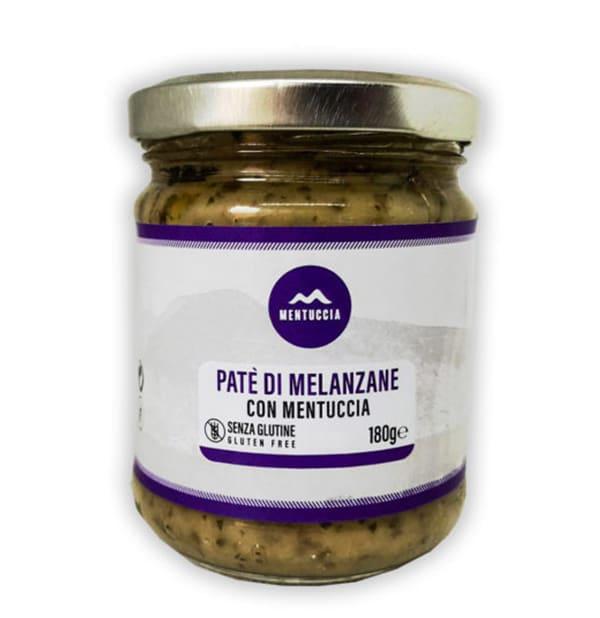 Paté di Melanzane con Mentuccia 160g