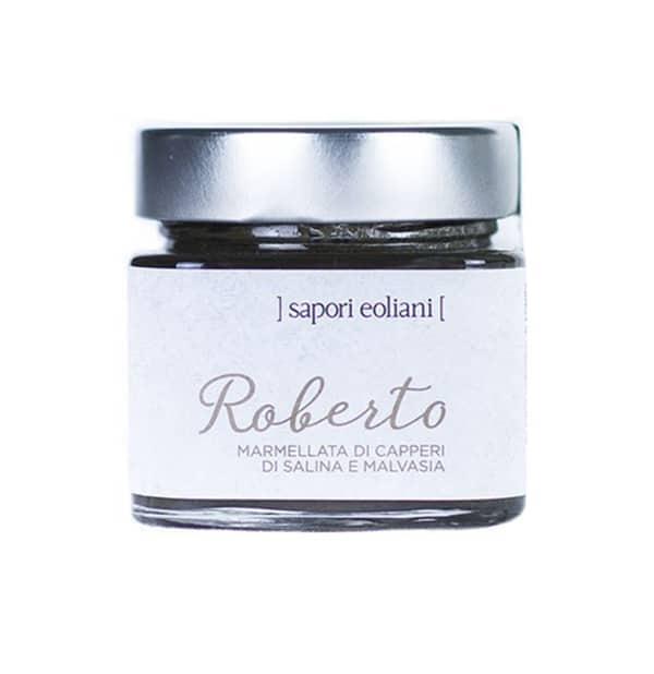 Roberto – Marmellata di Capperi di Salina e Malvasia 250g – Sapori Eoliani
