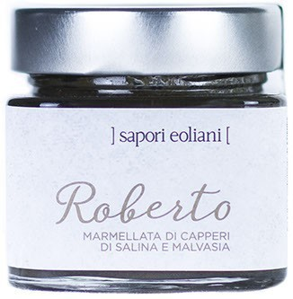 Roberto – Salina Capers Marmalade with Malvasia Wine