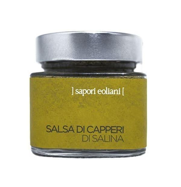 Salsa di Capperi di Salina 200g – Sapori Eoliani