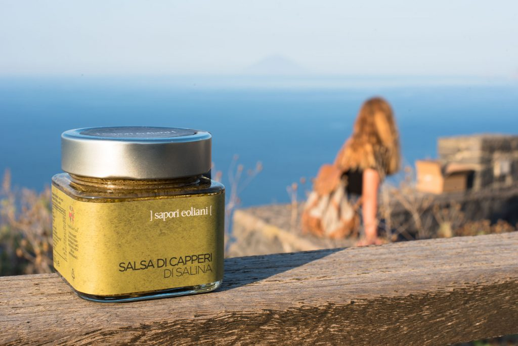 Salsa di Capperi di Salina - Eolie Shop - Prodotti Tipici Eoliani