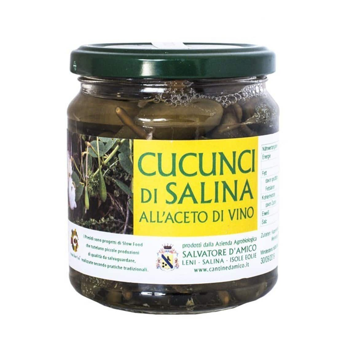 Salina Cucunci in Wine Vinegar