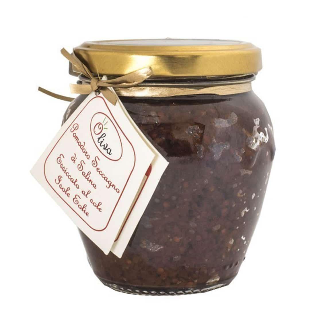 Patè di Pomodoro Siccagno di Salina 180g – Oliva
