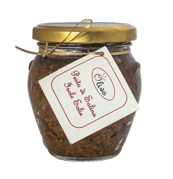 Pesto di Salina – Capperi, Pomodoro Seccagno e Mandorle 180g – Oliva