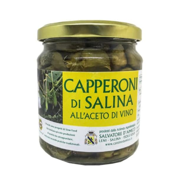 Big Capers in Wine Vinegar