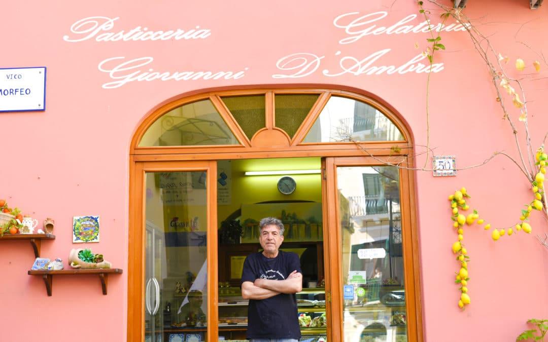 Intervista al Pasticcere Liparota Giovanni D'Ambra: Storia e Curiosità