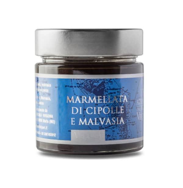 Marmellata di Cipolle e Malvasia delle Lipari 250g – Virgona