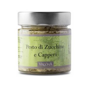 Pesto di Zucchine e Capperi di Salina 200g – Vigona