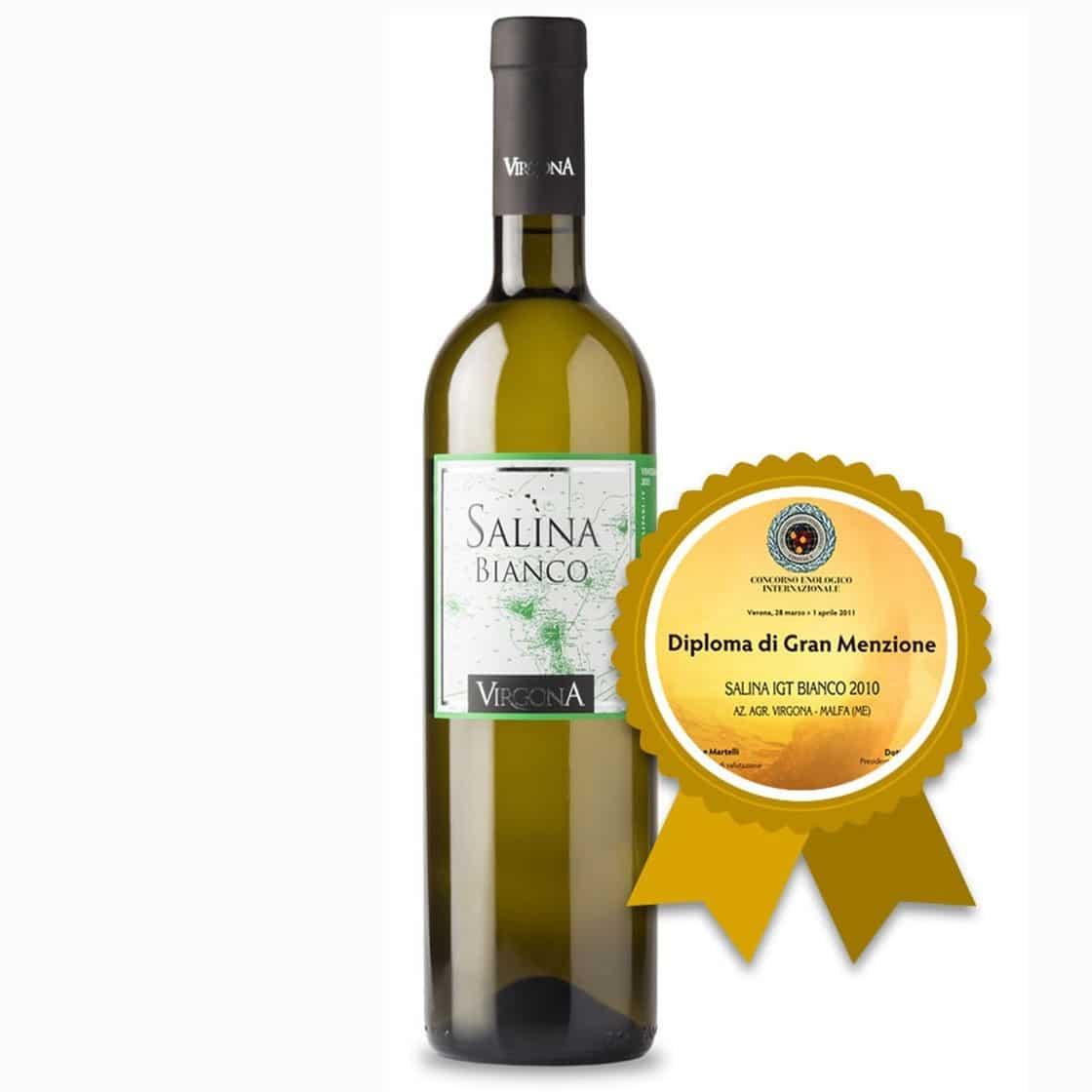 Salina Bianco I.G.T. 75cl 2018 – Virgona