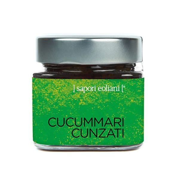 Seasoned Cucumber 200g – Sapori Eoliani