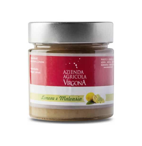 Marmellata di Limone e Malvasia delle Lipari 250g – Virgona