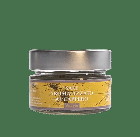 Sale Aromatizzato al Cappero di Salina 75g – Virgona
